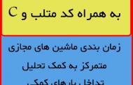 کد متلب و فایل word پایان نامه زمانبندي ماشينهاي مجازي متمرکز به کمک تحليل تداخل بارهاي کاري