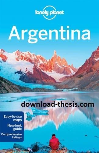 دانلود کتاب آرژانتین Lonely Planet Argentina سال 2016