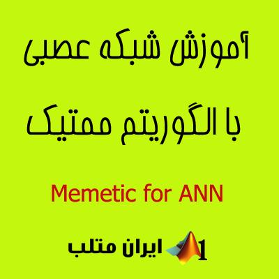 memetic algorithm الگوریتم ممتیک